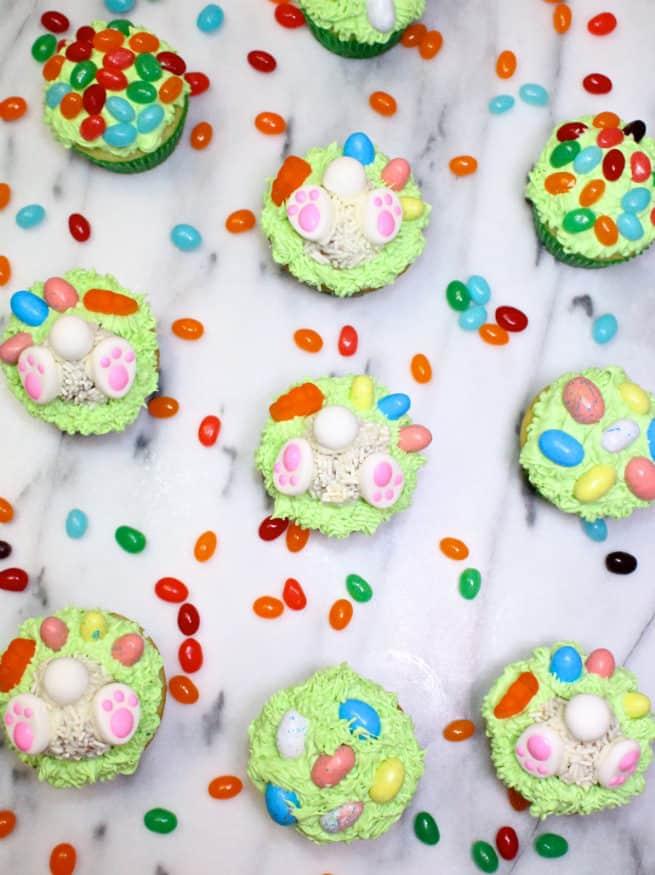 Cadbury-Creme-Egg-Candy-Bunny-Cupcakes