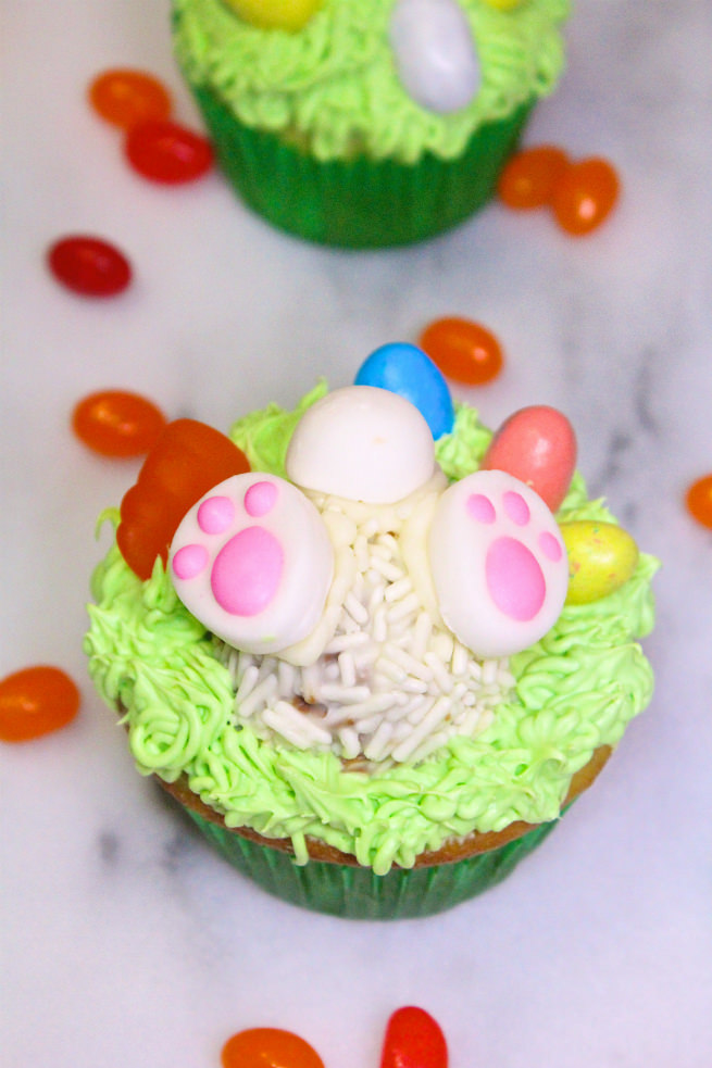 Cadbury-Creme-Egg-Candy-Easter-Bunny-Cupcakes