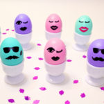 DIY Kiss Kiss Wink Wink Easter Eggs!
