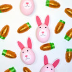 Easy DIY Pink Easter Bunny Eggs!