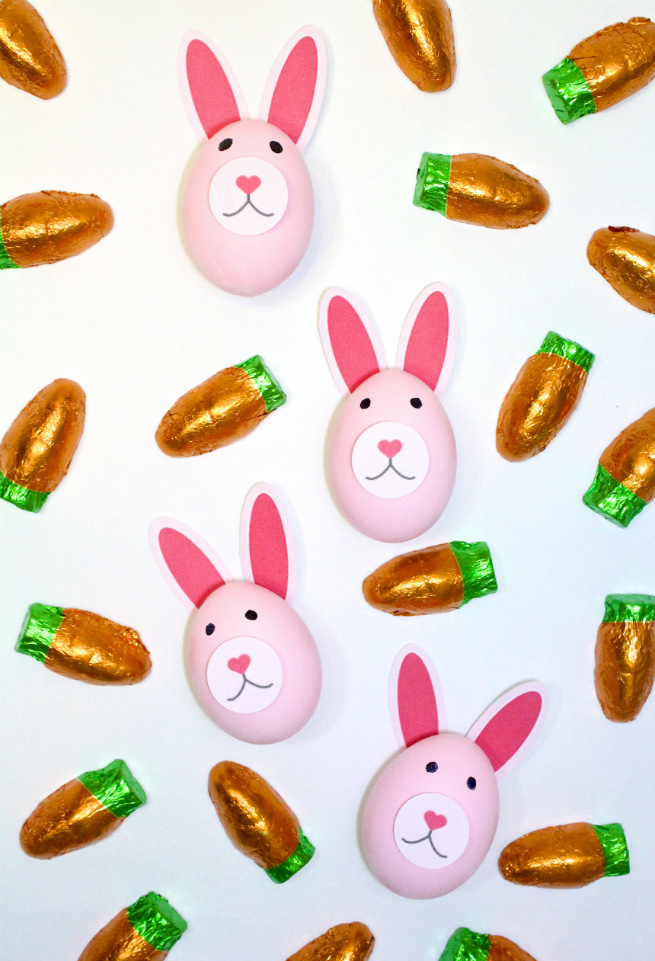 DIY-Pink-Easter-Bunny-Eggs