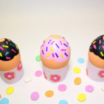 DIY Donut Easter Eggs & Free Printable Donut Egg Stands & Gift Tags!