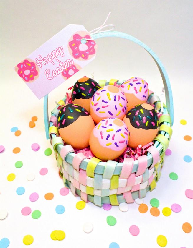 Donut-Easter-Eggs-Basket