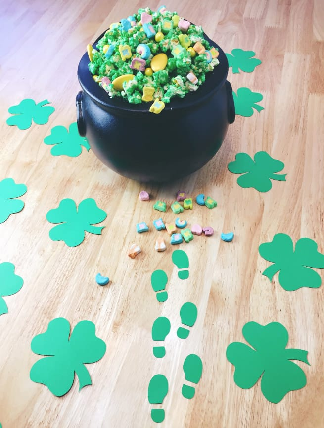 photograph regarding Leprechaun Feet Printable referred to as Do it yourself Leprechaun Footprints! ⋆ Brite and Bubbly