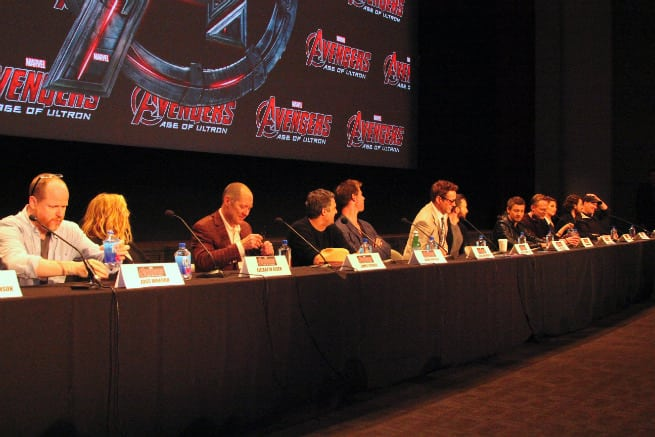Avengers-Age-Of-Ultron-Press-Conference-Cast
