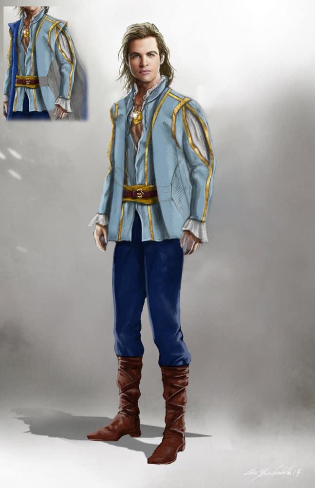 Cinderella's Prince Concept
