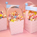 DIY Mini Easter Baskets Filled With Popcorn Bunny Food!