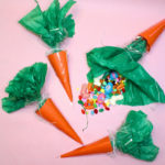DIY Easter Carrot Candy Favor Bags!