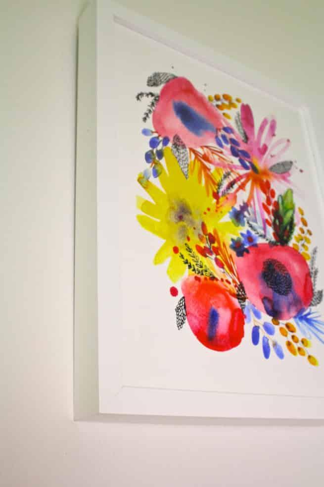 Minted-Flower-Art-Print-Frame