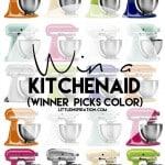 Spring KitchenAid Mixer Giveaway!