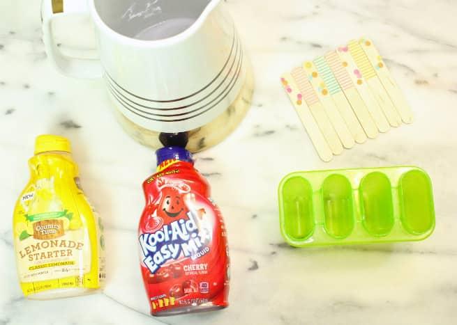 Cherry-Kool-Aid-And-Lemonade-Popsicles-Recipe-Ingredients