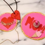 DIY Clay Jewelry Holders & Clay Heart Necklace Plus A Giveaway!
