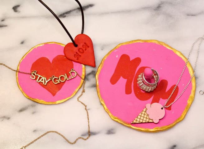 DIY-Mother's-Day-Clay-Jewelry-Dish-Ring-Holder