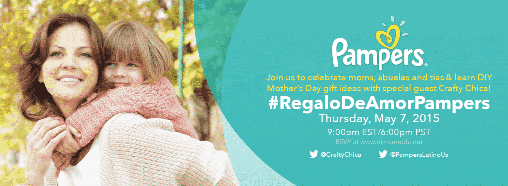 #RegaloDeAmorPampers Twitter Party Invite 4.27