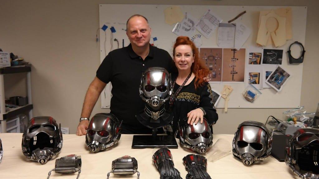 Costume Designers Sammy Sheldon and Ivo Coveney
