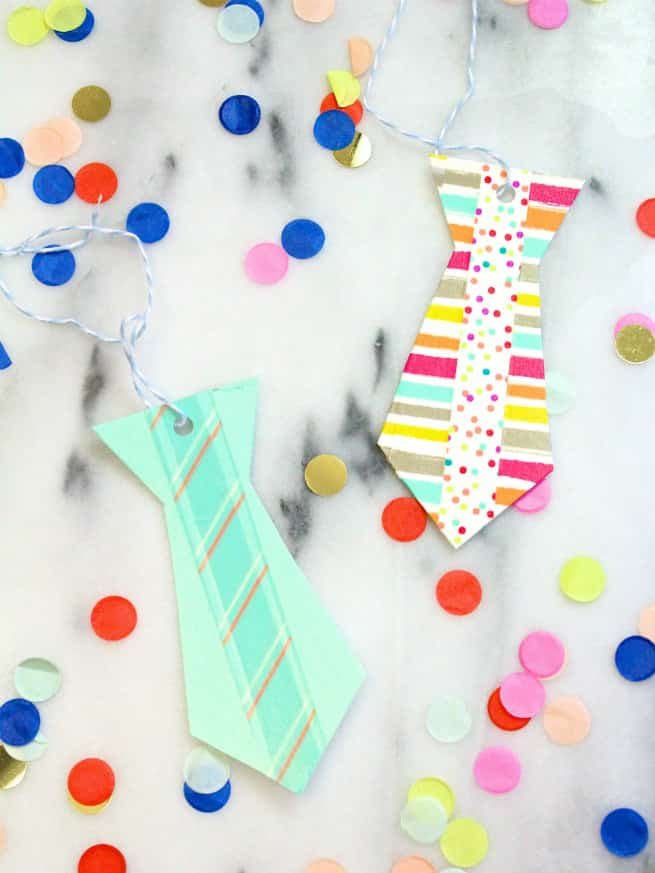 DIY-Washi-Tape-Neck-tie-father's-day-printable-gift-tags