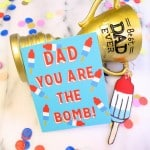 "DIY Free Printable ""Dad You Are The Bomb"" Father's Day Cards!"