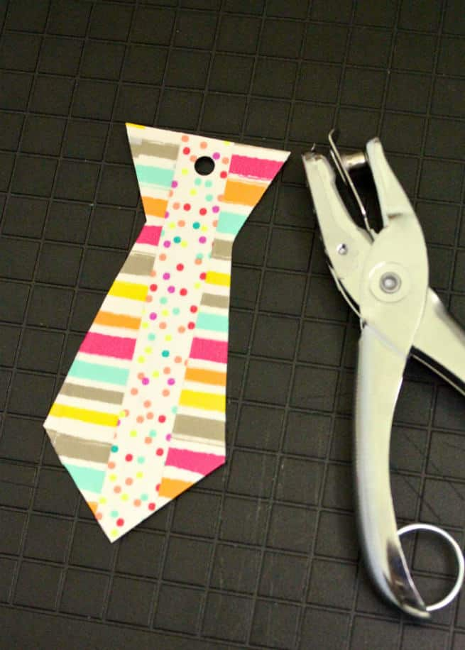 Neck-Tie-Printable-Hole-Punch