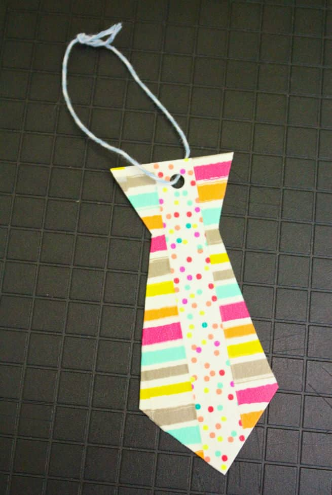 Washi-Tape-Neck-tie-father's-day-printable-gift-tags-Step-4