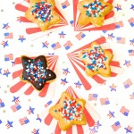 Yummy DIY July Fourth Glazed Doughnut Stars!