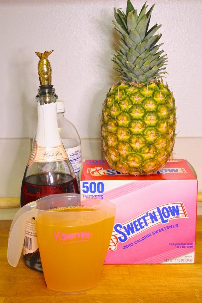 Ingredients-Pineapple-Mimosa-Drink-Recipe