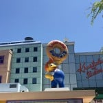 Our Visit To Springfield (Home of The Simpsons) At Universal Studios Hollywood!
