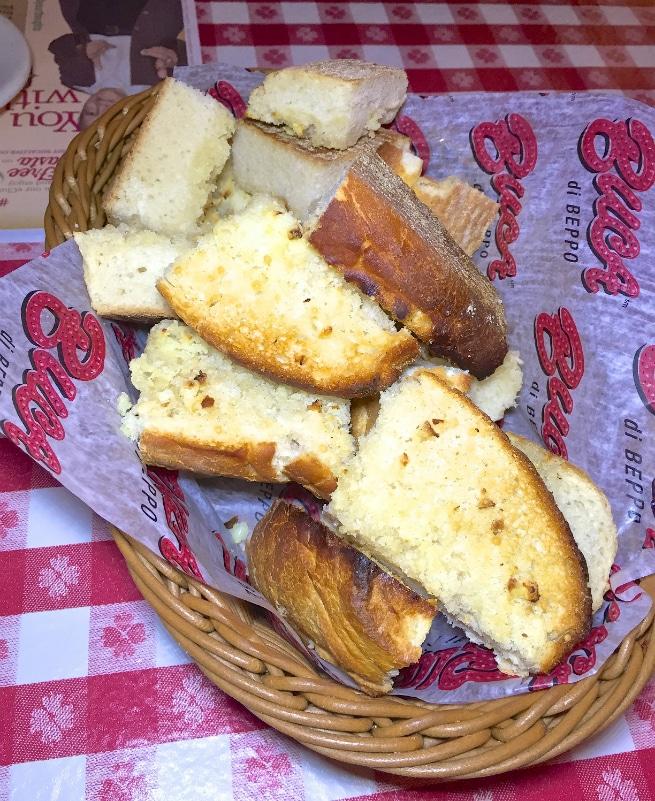 Buca di Beppo-Garlic-Bread