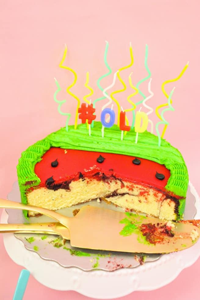 DIY-Watermelon-Cake-Candles-5