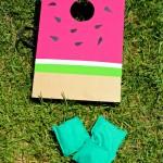 DIY Watermelon Cornhole Game!