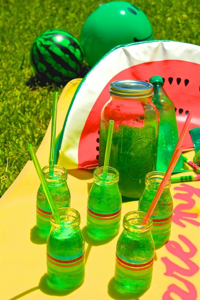 Lime-JELLO-drinks