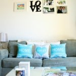 Styling Our Living Room With Shutterfly!