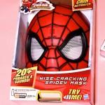 Ultimate Spider-Man Wise Cracking Spidey Mask & Gloves!