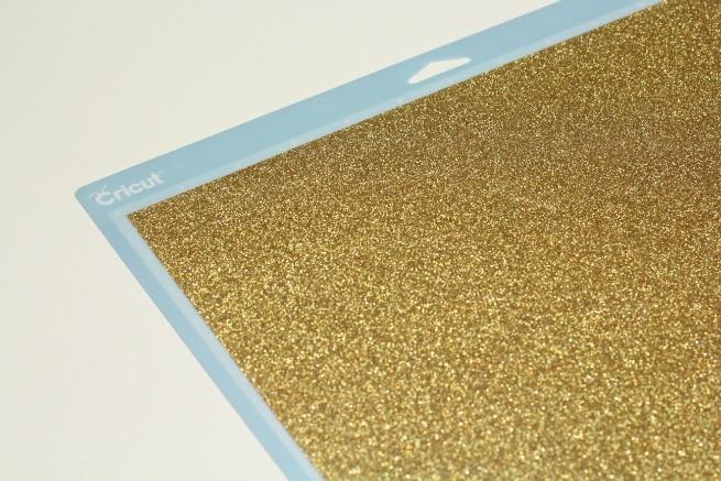 Cricut-Gold Glitter-Iron-On