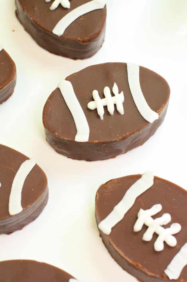 DIY-Dairy Free Football Fudge