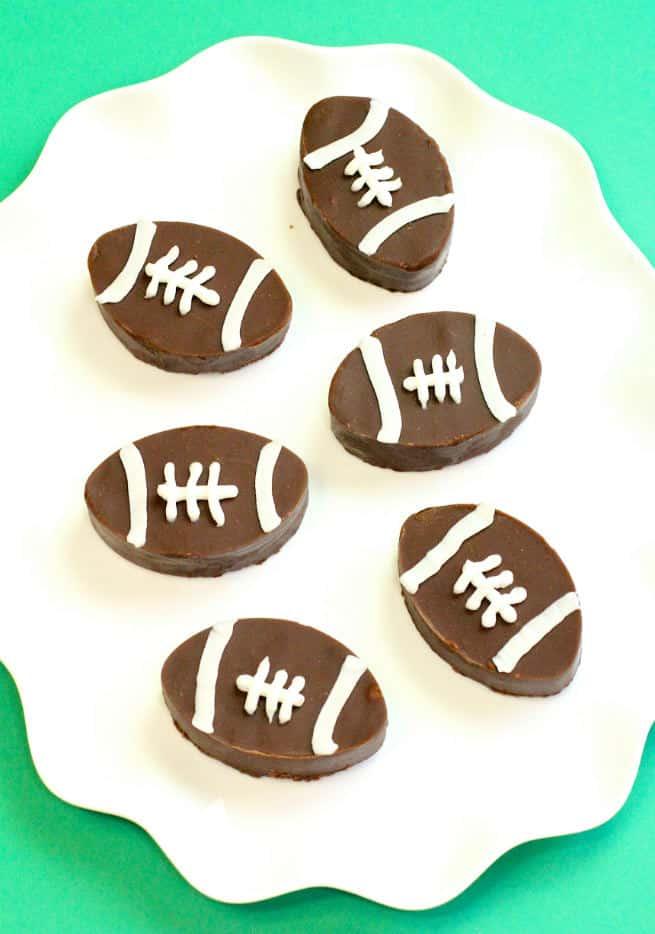 DIY-Dairy-Free Football Fudge