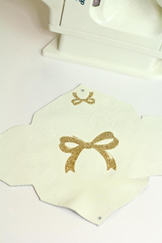 Diy Gold Glitter Monogram Business Card Holders Brite