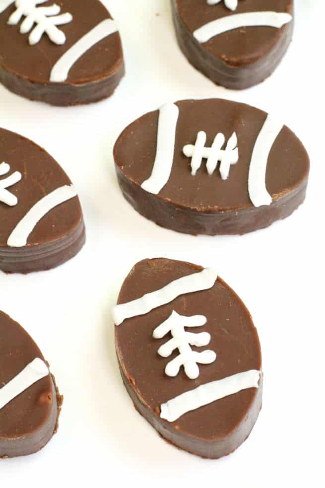 Dairy Free Football Fudge