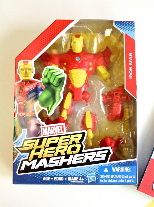 Hasbro-Marvel Super Hero Mashers-Iron-Man