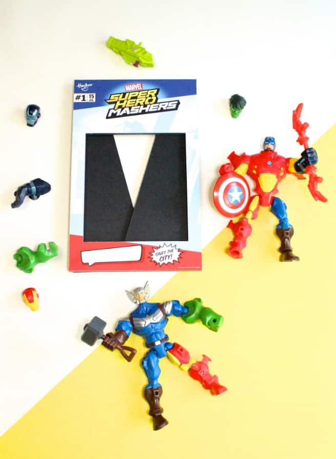 Hasbro-Marvel Super Hero Mashers