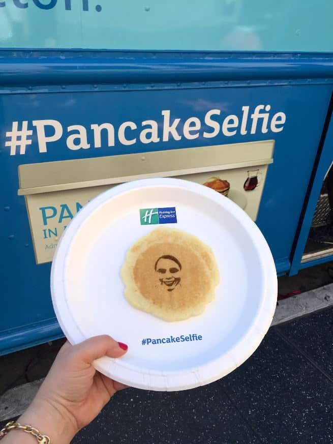 Pancake-Selfie
