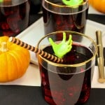 Zombie Themed Casillero del Diablo Red Wine Spritzer!