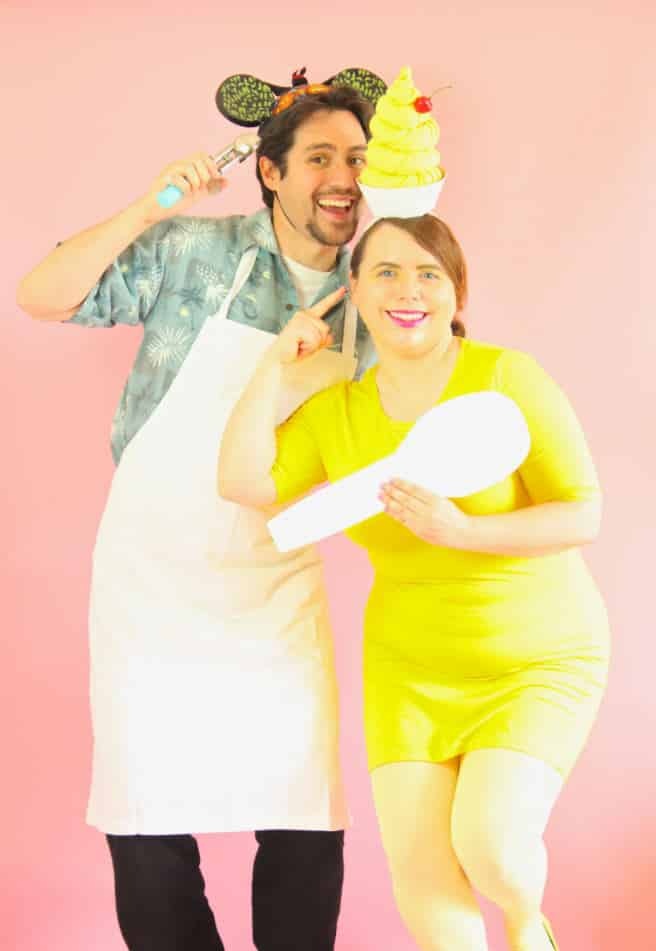 DIY-Dole-Whip-Couples-Costume-3