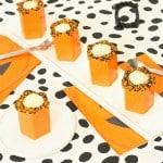 Halloween Pumpkin Cocktail Shot Recipe With A DIY Chocolate Shot Glass!