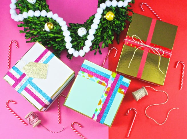 6 Creative Easy Holiday Gift Wrap Ideas