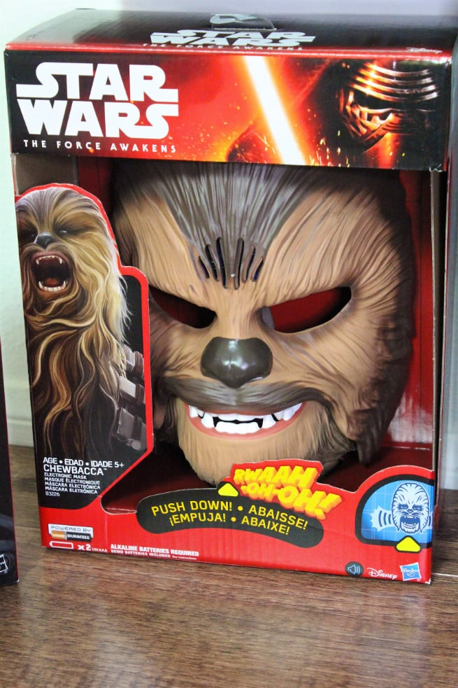 Chewbacca-Talking Mask