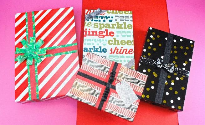 DIY Easy Holiday Gift Wrap Ideas