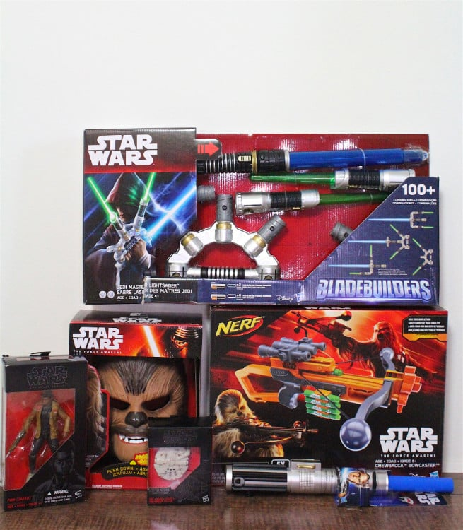 Hasbro-Star Wars-The Force Awakens Toys