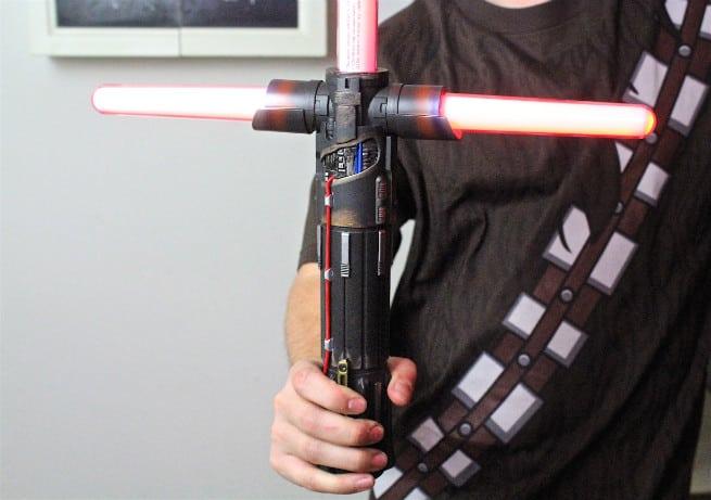 Kylo-Ren-Force-FX-Black Series-Lightsaber Handle