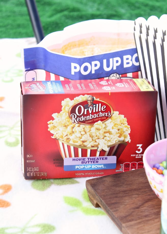 Orville Redenbacher's Popcorn Box