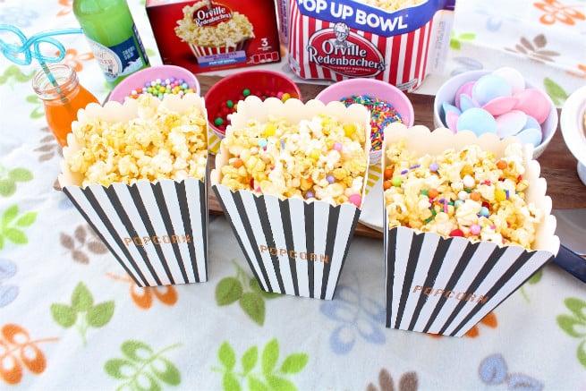 Orville Redenbacher's Popcorn Cartons